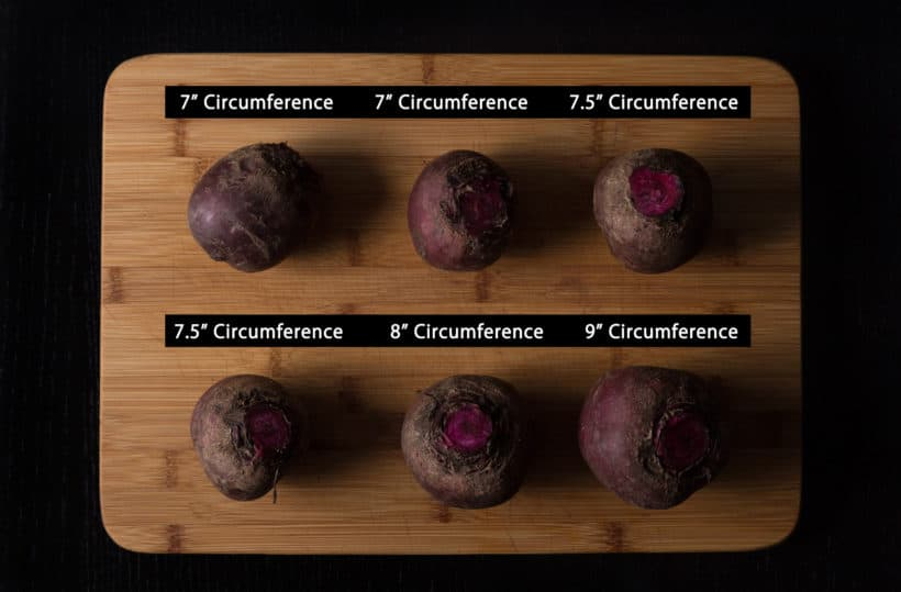 Instant Pot Beets Recipe (Pressure Cooker Beets) Pressure Cooking Experiment using different sizes of fresh whole beets