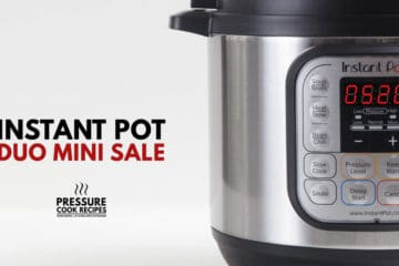 Instant Pot Sale Today! Amazing Instant Pot Deals for Instant Pot DUO Mini 3-Quart 7-in-1 Electric Pressure Cooker. Don't miss out on some early Christmas shopping.