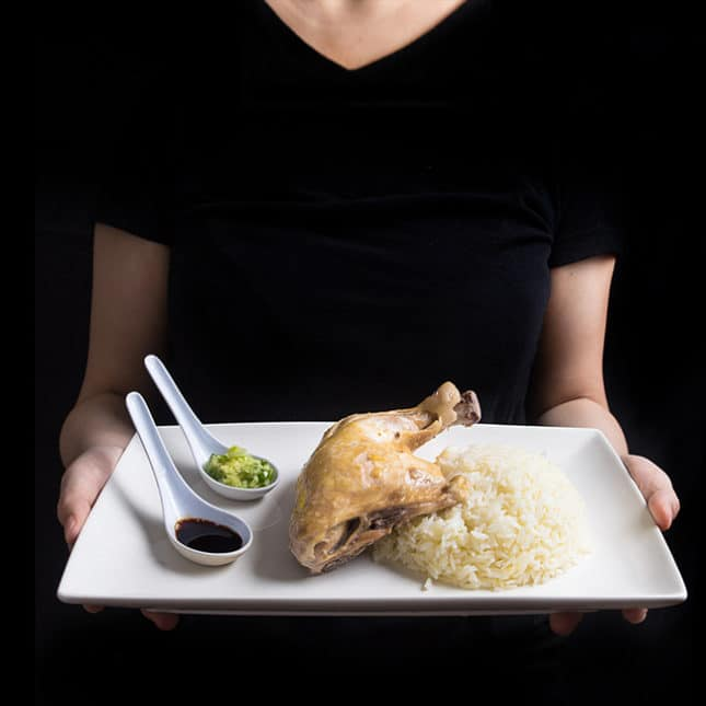 Instant Pot Chinese Takeout Recipes: Instant Pot Hainanese Chicken Rice