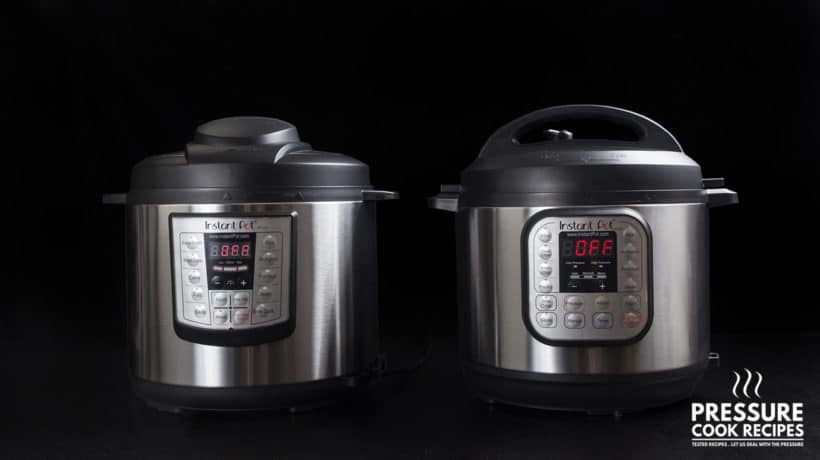Instant Pot Review: Which Instant Pot to Buy. A comparison and thought on Instant pot lux60 vs Instant Pot duo60 Electric Pressure Cookers.
