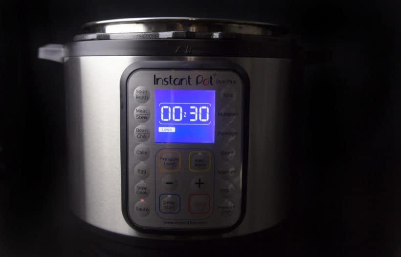 Instant Pot Saute Less Function