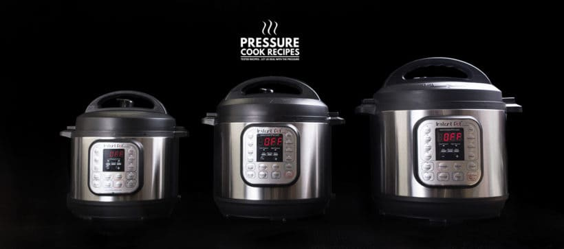 Instant Pot Review: Which Instant Pot to Buy. A visual and info comparison on the instant pot sizes - 3 quart, 6 quart, 8 quart. So you can decide which size is right for you.