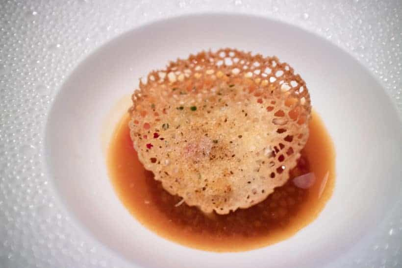 3 Michelin Star Restaurant Dungeness Crab Cake