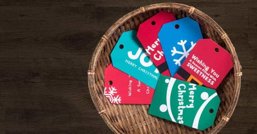 decorate your holiday gifts with these adorable exclusive free printable christmas gift tags join amy - Decorative Christmas Gift Tags