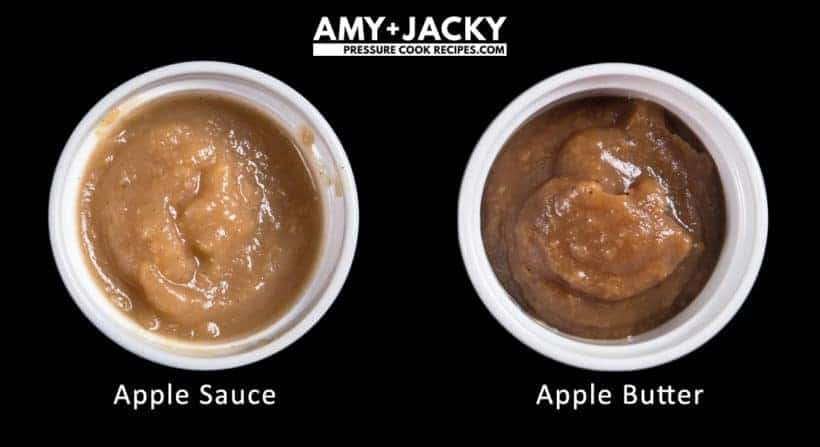 Instant Pot Apple Butter Recipe (Pressure Cooker Apple Butter): What is the difference between Apple sauce vs Apple Butter