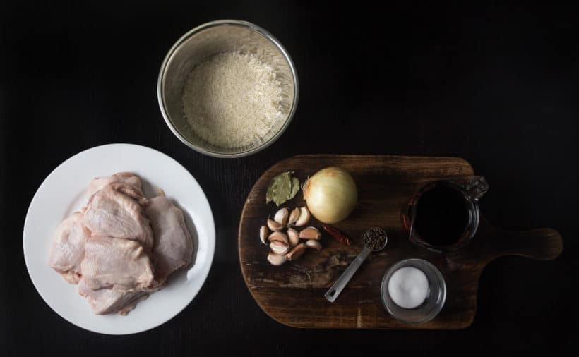 Instant Pot Chicken Adobo Recipe (Pressure Cooker Chicken Adobo) Ingredients