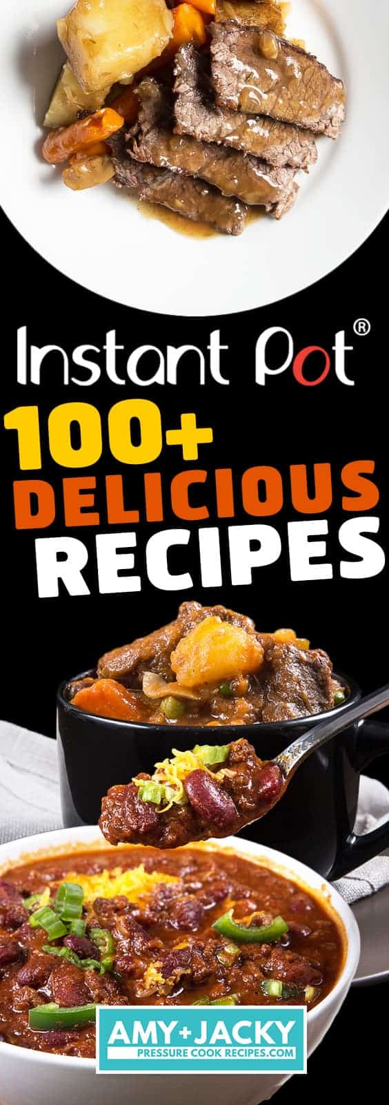 Instant Pot Recipes and Pressure Cooker Recipes: Easy Instant Pot Recipes, Healthy Family Recipes, Instant Pot Chicken, Instant Pot Beef, Instant Pot Pork, Instant Pot Desserts, Instant Pot Soup, and more. #instantpot #pressurecooker #recipe #food #easy #healthyrecipes