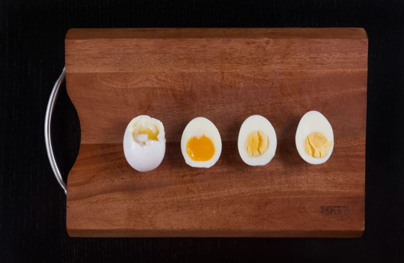 Instant Pot Soft Boiled Eggs Experiment