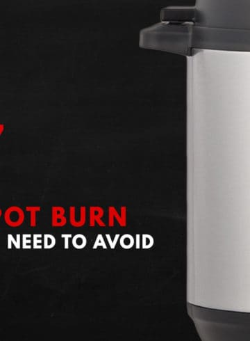 Instant Pot Burn Message: Need help with the dreaded Instant Pot BurnMessage or OverheatError on screen display? This guide explains what the Burn Code or Ovht Error mean, why your Instant Pot says Burn, and helps you avoid the burn error. #instantpot #instantpotrecipes #pressurecooker #pressurecookerrecipes