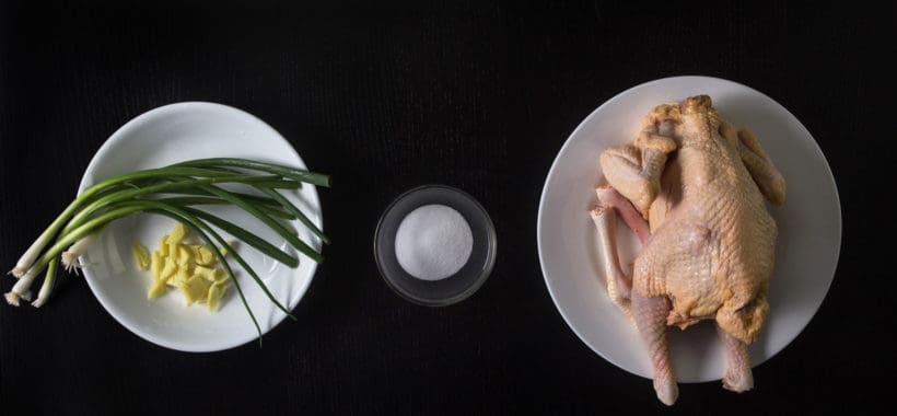Instant Pot HK Chicken Recipes (Pressure Cooker HK Chicken) White Cut Chicken 白切雞 Ingredients