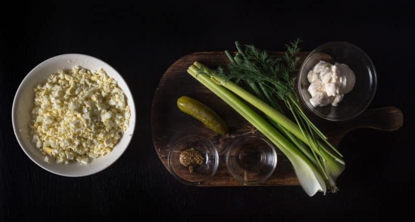 Instant Pot Egg Salad Recipe (Pressure Cooker Egg Salad) Ingredients #instantpot #instapot #pressurecooker #instantpotrecipes #pressurecooking #eggsalad #picnicrecipes #saladrecipes