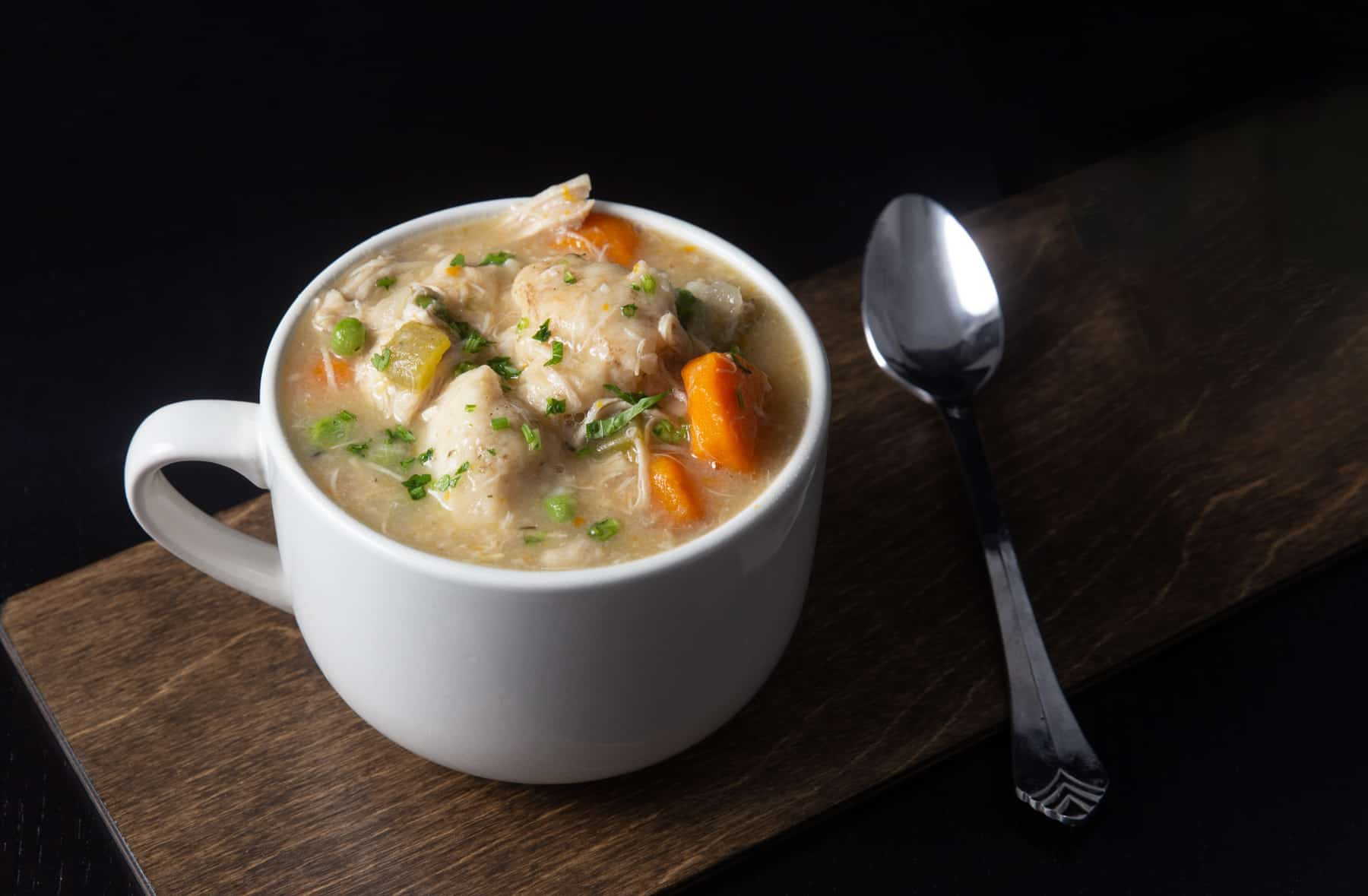Instant Pot Chicken and Dumplings Recipe (Pressure Cooker Chicken and Dumplings): how to make satisfying Chicken and Dumplings - classic comfort food with tender chicken and fluffy homemade dumplings in aromatic chicken broth. An all-time family favorite! #instantpot #instantpotrecipes #instapot #pressurecooker #chickenrecipes #recipes