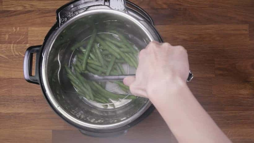 How long do you cook green beans in Instant Pot Pressure Cooker