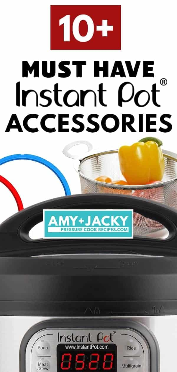Must Have Instant Pot Accessories for Instant Pot Pressure Cooker: Most Popular, Best Instant Pot Accessories among users. #instantpot #pressurecooker #accessories #tips