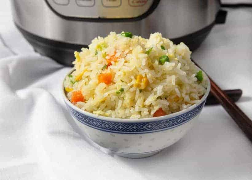 Instant Pot Fried Rice | Pressure Cooker Fried Rice | Chinese Fried Rice | Egg Fried Rice | Instapot Fried Rice | Chinese Recipes #instantpot #pressurecooker #recipes #chinese #easy #side #healthy