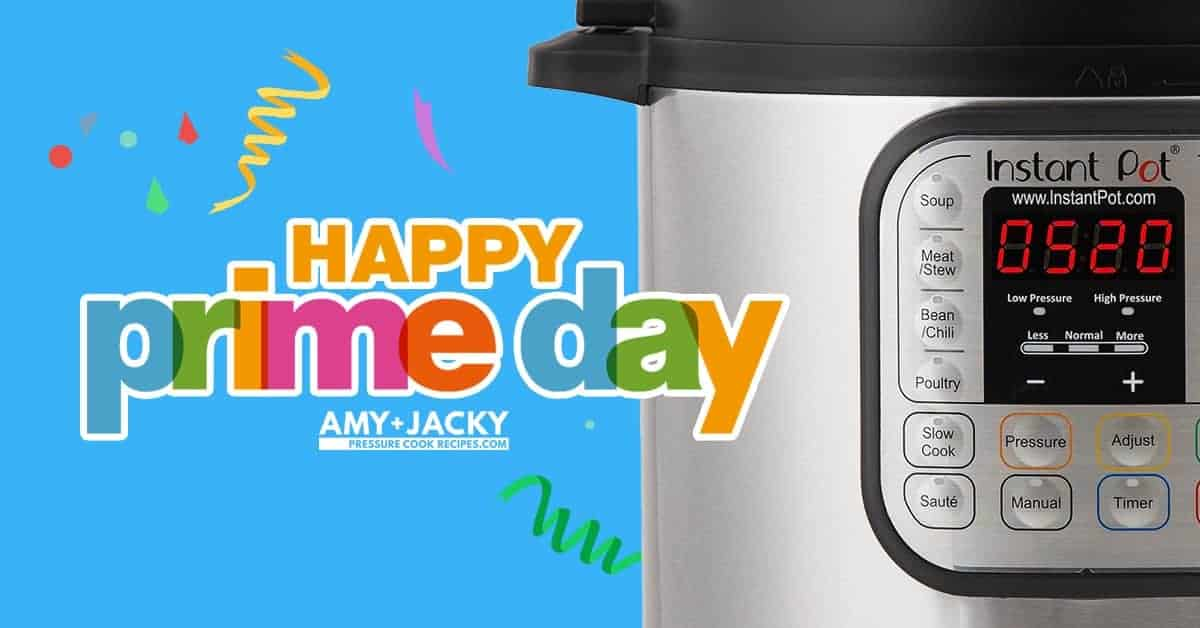 Amazon Instant Pot Prime Day Sale 2019: Best Prime Day Instant Pot Deals #instantpot #pressurecooker