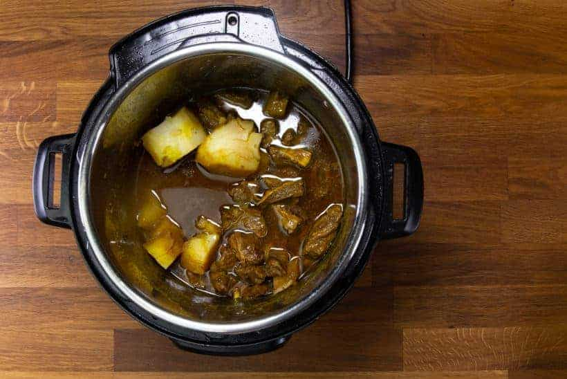 Instant Pot HK Beef Curry (咖喱牛腩): Pressure Cooker Beef Curry (Hong Kong Style)