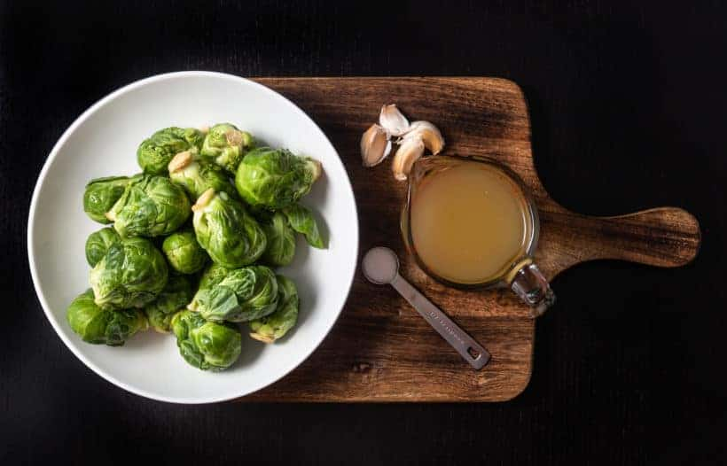 Instant Pot Brussels Sprouts Recipe Ingredients
