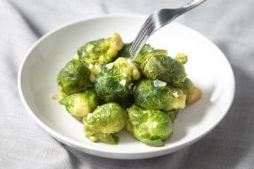 Instant Pot Brussels Sprouts | Pressure Cooker Brussels Sprouts | Instapot Brussel Sprouts | Instant Pot Vegetables | Instant Pot Side Dishes | Instant Pot Vegetarian | Instant Pot Recipes