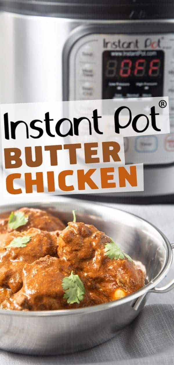 Instant Pot Butter Chicken | Pressure Cooker Butter Chicken | Butter Chicken Recipe | Instant Pot Indian Recipes | Instant Pot Asian Recipes | Instant Pot Chicken Recipes | Easy Chicken Dinner | Instant Pot Recipes #instantpot #pressurecooker #chicken #dinner #easy #indian