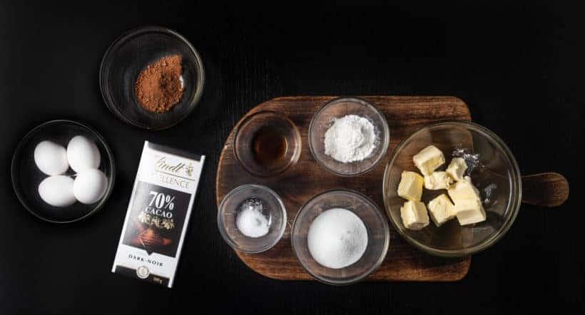 Instant Pot Lava Cake | Instant Pot Chocolate Lava Cake | Instant Pot Cake | Instant Pot Chocolate Fondant | Instant Pot Molten Chocolate Cake Recipe Ingredients