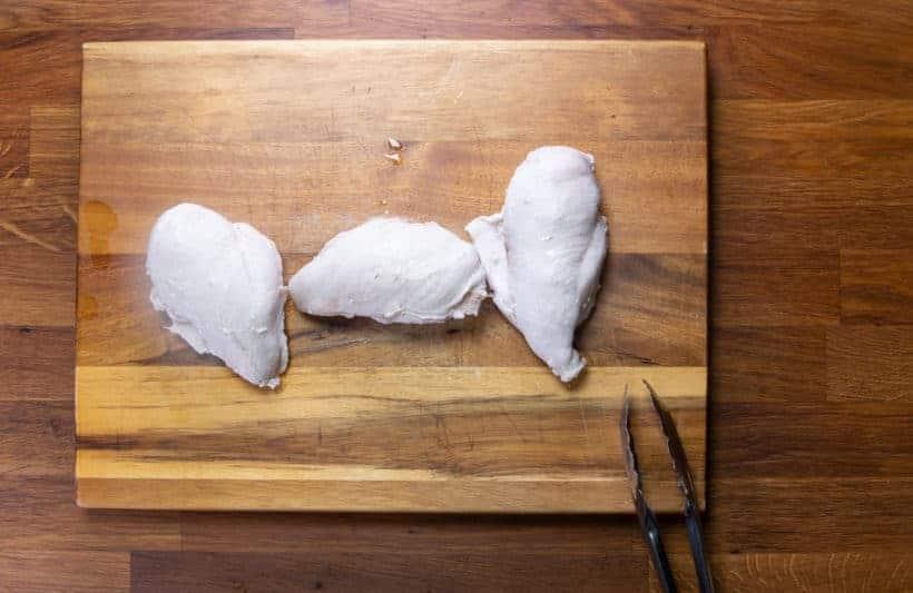 Instant Pot Shredded Chicken: pressure cook chicken breasts in Instant Pot Pressure Cooker