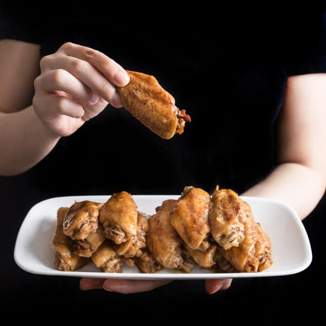 Instant Pot Chinese Takeout Recipes: Instant Pot Honey Garlic Chicken Wings