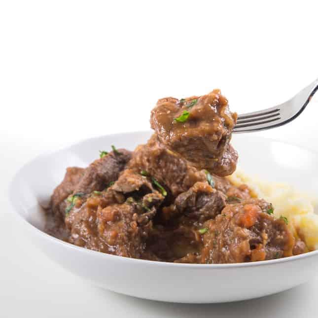 Instant Pot Christmas Recipes: Instant Pot Irish Beef Stew (Pressure Cooker Irish Beef Stew)
