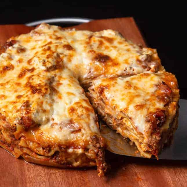 Instant Pot Christmas Recipes: Instant Pot Lasagna (Pressure Cooker Lasagna)