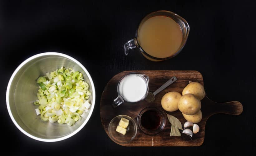 Instant Pot Potato Leek Soup | Pressure Cooker Potato Leek Soup Recipe Ingredients
