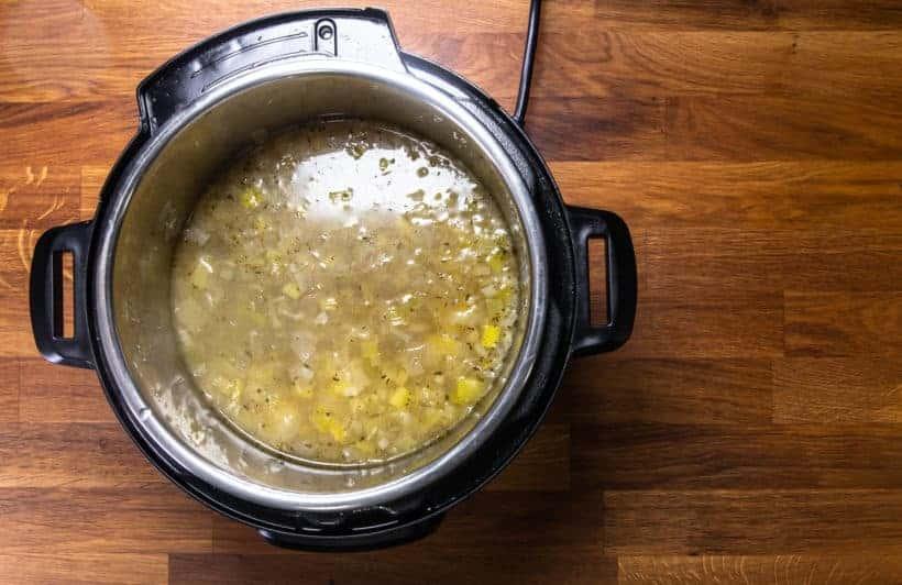 Instant Pot Potato Leek Soup | Instant Pot Potato Soup Recipe