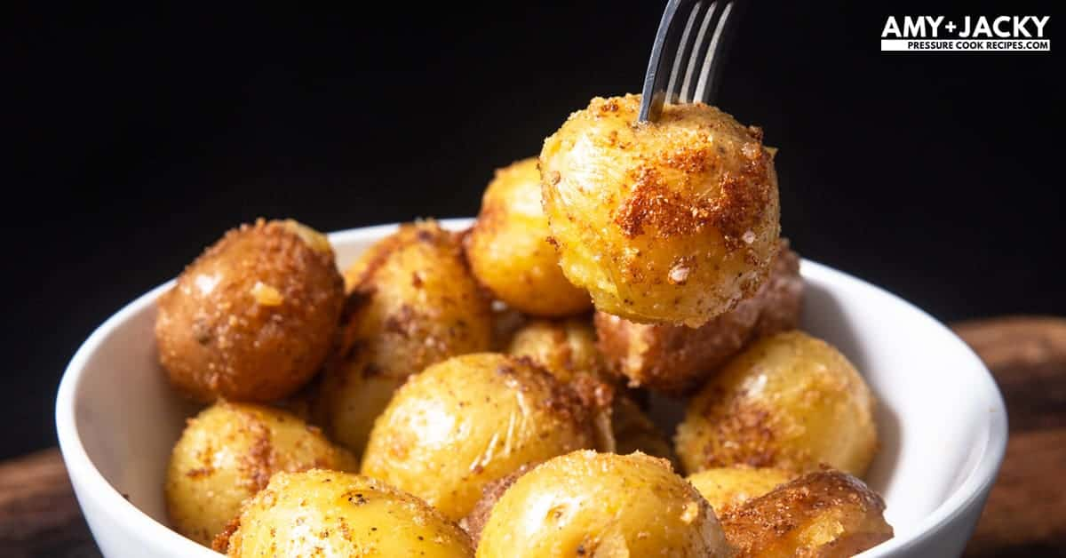 How to Make Crisp & Creamy Instant Pot Roasted Potatoes