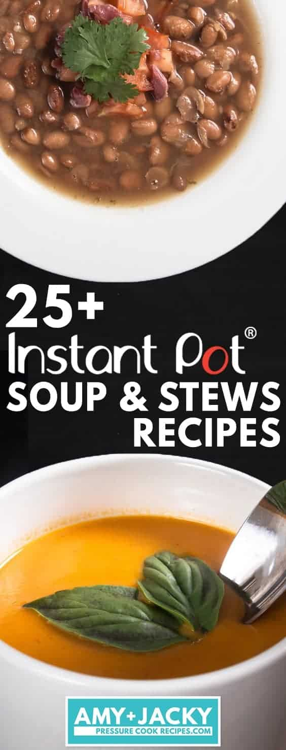 Instant Pot Soup Recipes | Pressure Cooker Soup Recipes | Instant Pot Stew | Pressure Cooker Stew | Instant Pot Stock | Pressure Cooker Stock | Instant Pot Recipes | Pressure Cooker Recipes #instantpot #pressurecooker #soup #healthy #easy