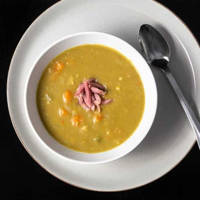Instant Pot Christmas Recipes: Instant Pot Split Pea Soup (Pressure Cooker Split Pea Soup)
