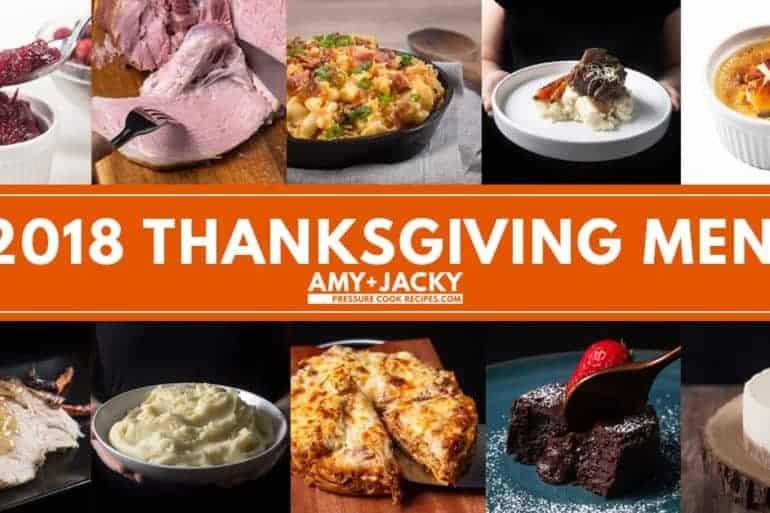 Instant Pot Thanksgiving Recipes | Pressure Cooker Thanksgiving Recipes | Instant Pot Holiday Recipes | Thanksgiving Dinner | Friendsgiving dinner
