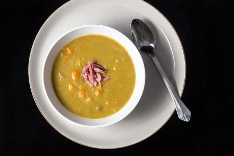 Instant Pot Split Pea Soup | Pressure Cooker Split Pea Soup | Instapot Split Pea Soup | Instant Pot Soup | Instant Pot Ham | Split Pea and Ham Soup | Pressure Cooker Soup | Healthy Instant Pot Recipes
