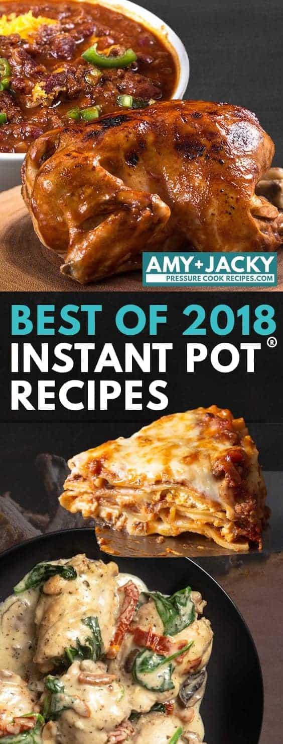 Best Instant Pot Recipes | Best Pressure Cooker Recipes | Best Instapot Recipes | Top Instant Pot Recipes | Best Recipes 2018 #instantpot #pressurecooker #recipes