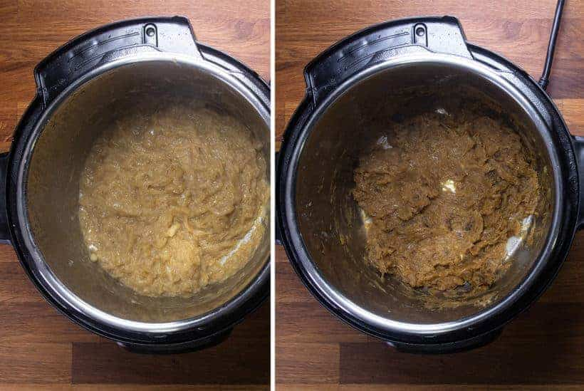 Instant Pot French Onion Soup | Pressure Cooker French Onion Soup: how to caramelize onions in Instant Pot Pressure Cooker