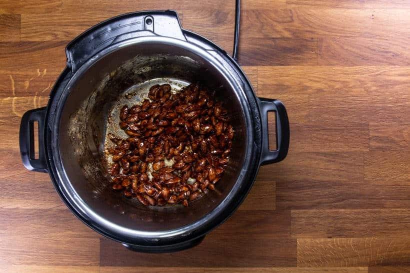 Instant Pot Churro Almonds | Cinnamon Candied Almonds | Caramelized Almonds Recipe: let almonds caramelize in the cinnamon churro mixture