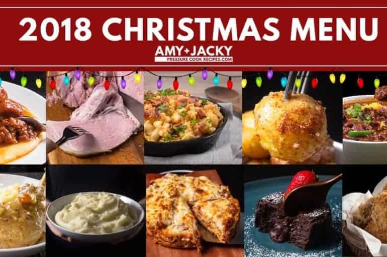 Instant Pot Christmas Recipes   Instant Pot Holiday Recipes   Pressure Cooker Christmas Recipes   Pressure Cooker Holiday Recipes   Christmas Dinner Ideas   Holiday Feast Ideas