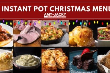 Instant Pot Christmas Recipes | Instant Pot Holiday Recipes | Pressure Cooker Christmas Recipes | Pressure Cooker Holiday Recipes | Christmas Dinner Ideas | Holiday Feast Ideas #instantpot #pressurecooker #recipes #christmas #holiday