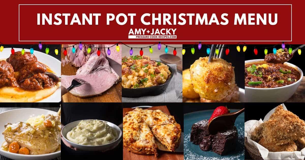 Instant Pot Christmas Recipes | Instant Pot Holiday Recipes | Pressure Cooker Christmas Recipes | Pressure Cooker Holiday Recipes | Christmas Dinner Ideas | Holiday Feast Ideas #instantpot #pressurecooker #recipes #christmas #holiday