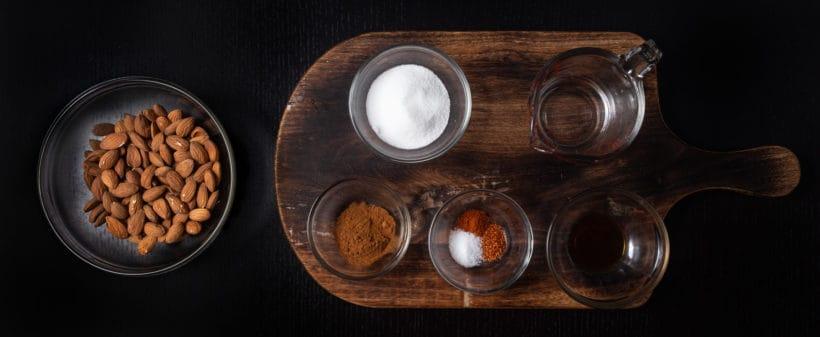 Instant Pot Churro Almonds | Cinnamon Candied Almonds | Caramelized Almonds Recipe Ingredients