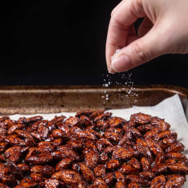 Instant Pot Christmas Recipes: Instant Pot Churro Candied Almonds