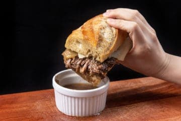 Instant Pot French Dip | Pressure Cook French Dip | Instapot French Dip Sandwich | Beef Dip | Instant Pot Chuck Roast | Instant Pot Beef Recipes | Healthy Instant Pot Recipes