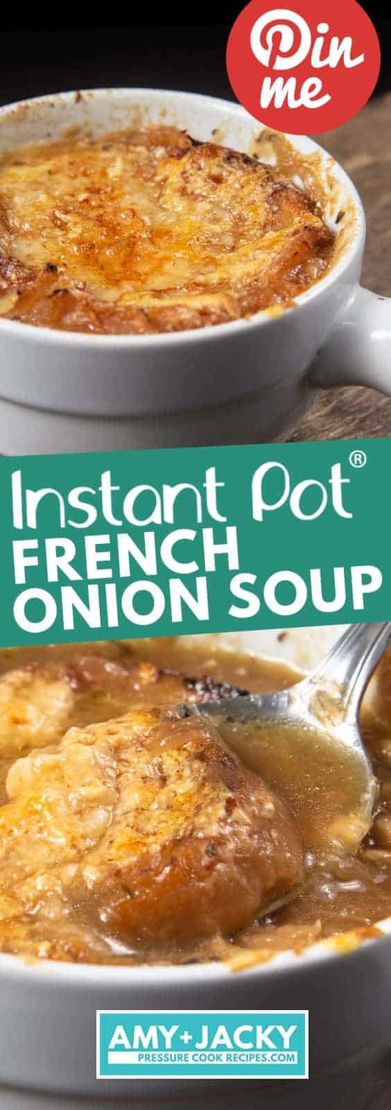 Instant Pot French Onion Soup | Pressure Cooker French Onion Soup | Instapot French Onion Soup | Instant Pot Soup | Pressure Cooker Soup | Instant Pot Recipes | Pressure Cooker Recipes #soup #recipes
