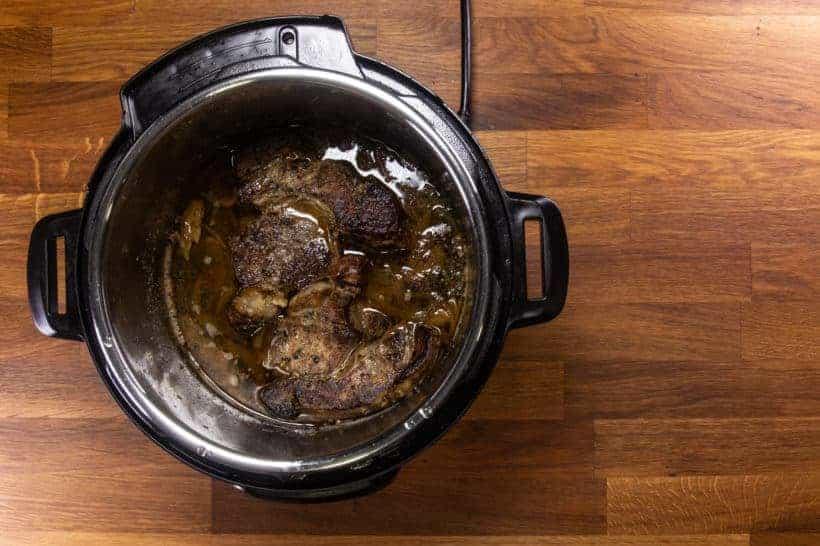 Instant Pot Italian Beef | Pressure Cooker Italian Beef: pressure cooked chuck roast in Instant Pot Pressure Cooker