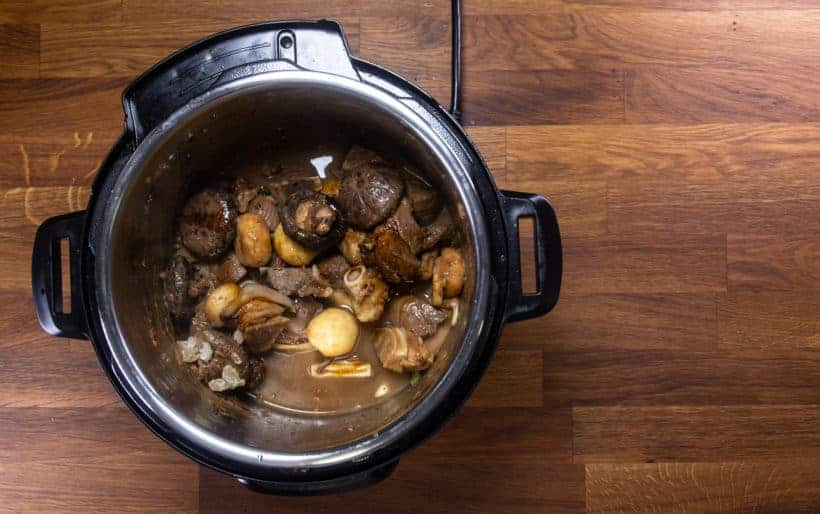 Instant Pot Chinese Lamb Stew | Pressure Cooker Lamb Stew: pressure cook lamb stew in Instant Pot Pressure Cooker