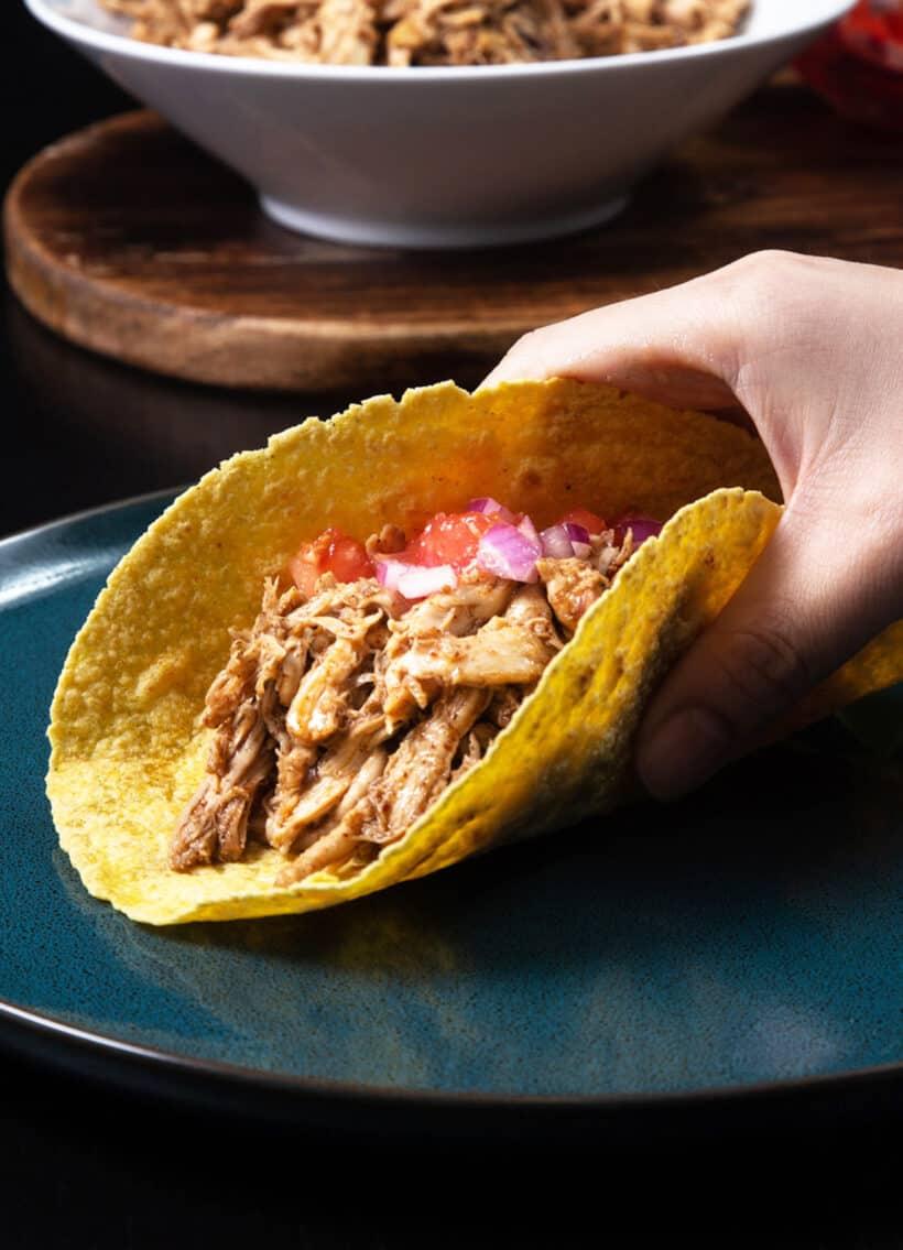 chicken tacos instant pot