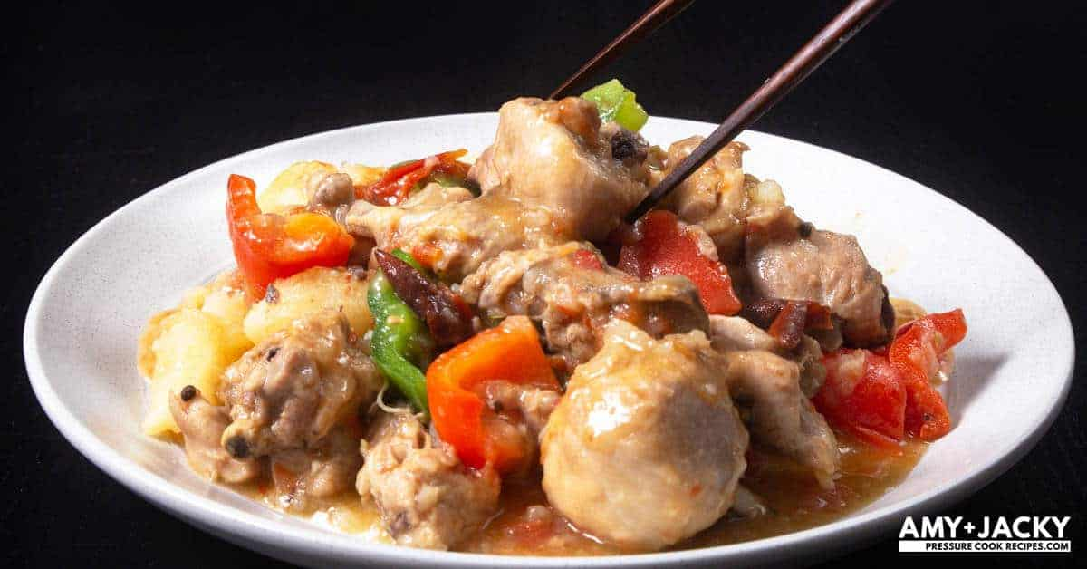 Instant Pot Chinese Chicken Stew Dapanji Tested By Amy Jacky